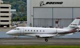 landing past Boeing