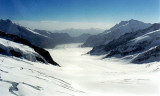 Aletsch Glacier on Jungfraujoch