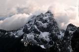 First Snow on Gunn Peak