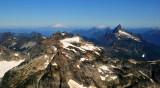 Monte Cristo Peak and Mt Baker