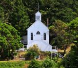 White Church in Roche Harbor