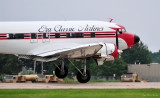 right crosswind landing DC-3