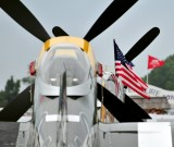 P-51 and US Flag