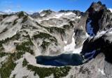 Overcoat Lake and Overcoat Peak