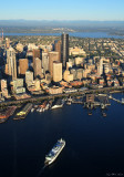 Seattle Ferry Terminal and Seattle