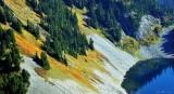 fall on Gravel Lake