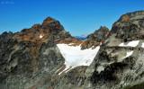 Monte Cristo Peak and glacier