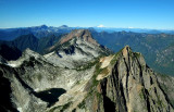 Sperry Peak and Big Four Mountain