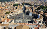 St Peter's Square, The Vatican City, Italy