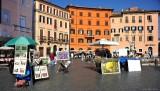 artworks at Piazza Navona