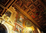 ceiling Basilica of Our Ladys in Trastevere