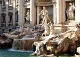 Neptune at Trevi Fountain