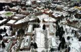 University of Washington in winter