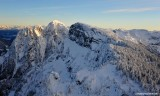 Recent snow on Mt Persis and Mt Index WA