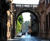Arco Farnese  Via Guilia