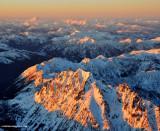 Mt Stuart with golden crown