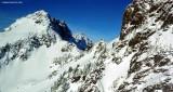 Ida Pass and Foggy Peak