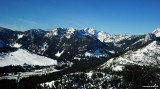 Snoqualmie Pass from east