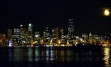 Seattle and moon
