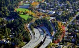 Park on the Lid, Interstate 90,Mercer Island, Washington