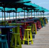 colorful chairs in KW