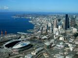 Sunny Seattle and Puget Sound