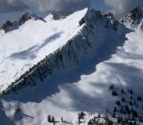 ridgeline on Whitehorse Mountain