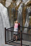 look at the falls