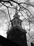 old north church in fall