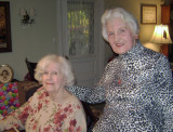 Mom & Aunt Ruth in Tidioute