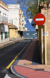No Entry to La Manga