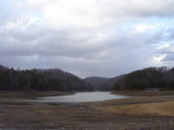 Drained Winter Lake