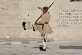 Changing of the guard in Syntagma Square