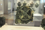 The Antikythera Mechanism in the Archeological Museum