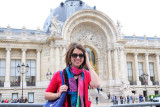 Sam in front of the Petit Palais