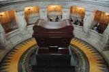 Napoleon's modest little tomb