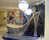 High Heel Bathtub in a Milan Shop Window