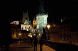Mala Strana Bridge Tower at Night