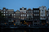 Canal Houses in the Early Evening