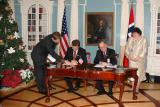 Signing of the U.S. - Norway Bilateral Agreement for Scientific Cooperation