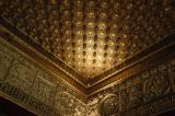 One of many beautiful ceilings in the Alcazar