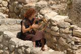 King David Playing His Lyre
