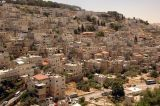 Jerusalem today - strikingly similar to the model of the city in ancient times, directly below