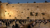 The Kotel (Western Wall) in the Early Evening