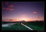 8972  Zuid-Beyerland, sunset.