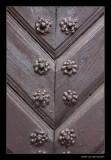 1067 Lithuania, detail of door in Vilnius