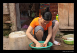 7701 Vietnam, cleaning vegetables