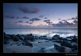 3856 Noordzee, sunset