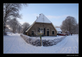 5366  farmhouse in snow