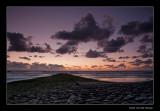 3829 Noordzee sunset
